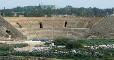 Ancient Roman Amphitheater in Caesarea sold by Greek Orthodox church to mystery foreign buyer