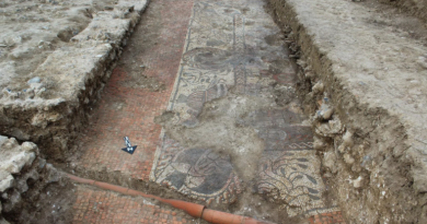 At Pompeii, Archaeologists Uncover New Room Of Beautifully Preserved Frescoes