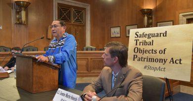 Bipartisan Legislation To Safeguard Tribal Items Receives Key Committee Hearing