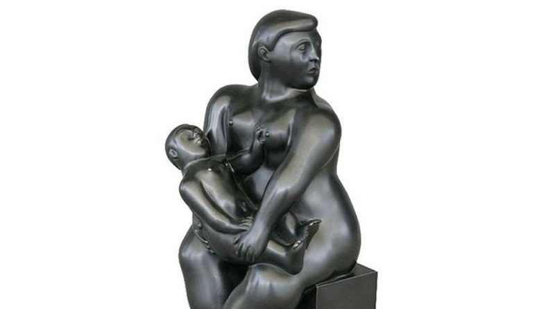 Thief Carries Botero Sculpture Right Out Of Paris Gallery