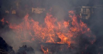 Why The Getty Center's Art Was Safest Inside The Getty, No Matter How Close The Fires Got
