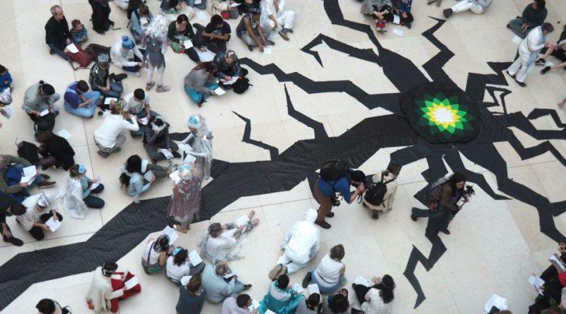 Activists Create Huge 'Crack' In The Floor Of The British Museum