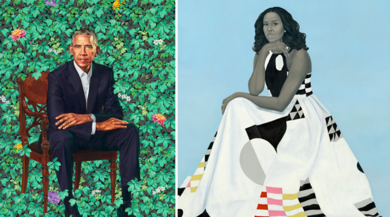 The Obama Portraits As Artistic Statement