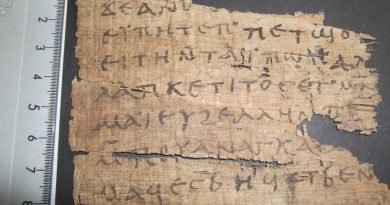 How A Professor Tracked Down A Seller Of Looted Ancient Papyri