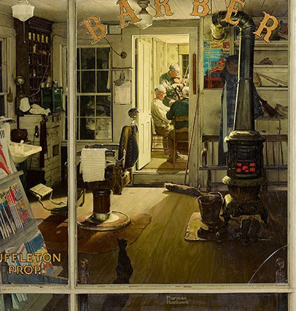 Berkshire Museum's Famous Norman Rockwell Painting Sold To George Lucas's New Museum
