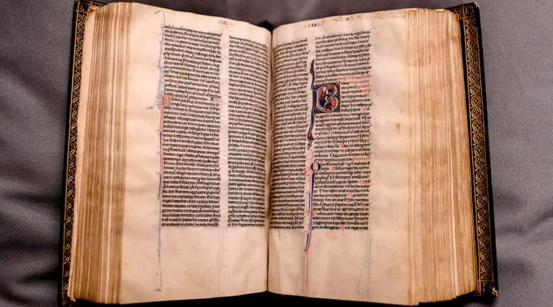 Rare Bible Returned To Canterbury Cathedral Library After 500 Years