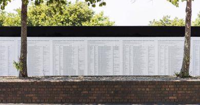 Destroyed Artwork Listing Refugee Deaths Is Back On View