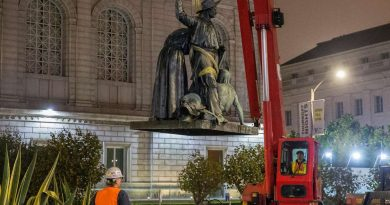San Francisco Removes A Statue Of A Native Man Lying At The Feet Of A Missionary