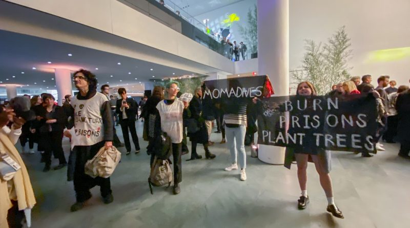 Activists Crashed The MoMA Party To Demand Prison Divestment
