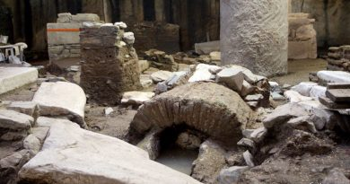A 'Byzantine Pompeii', Discovered By, And Now Threatened By, Subway Construction