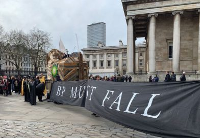 Climate activists take over British Museum in all-night protest against BP sponsorship
