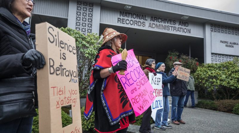 Trump Administration Abruptly Closes National Archives In Seattle, Infuriating Researchers, Tribal Leaders